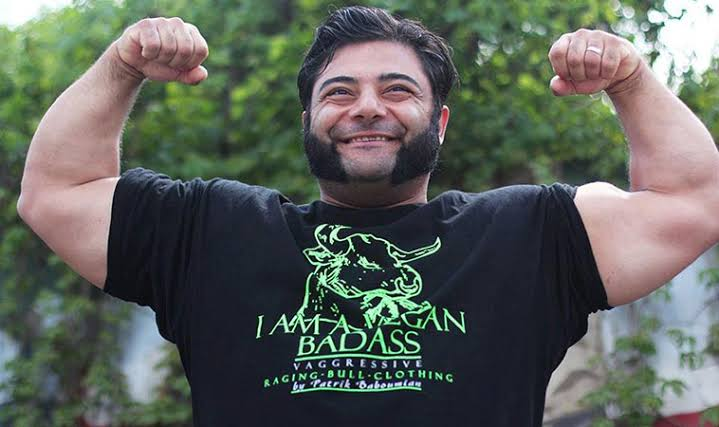 world strongest vegan