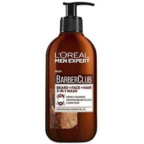 L'Oreal-Paris-Men-Expert-Barber-Club-Beard,-Face-and-Hair-Wash