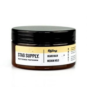 Stag Supply Buttered Popcorn Styling Beard Balm 100ml