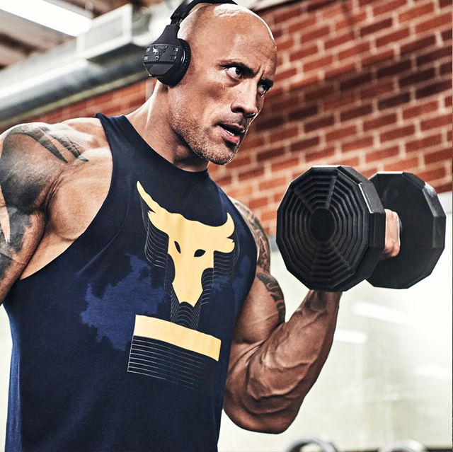 the rocks workout diet