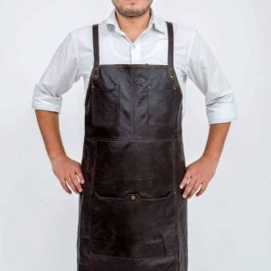 Oliver Leather Apron
