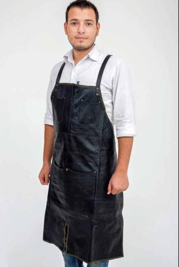 Oliver Leather Apron