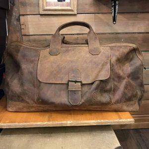 Phileas Leather Duffle 22″