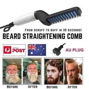 Beard Straightener & Hair Styler - Multifunctional Comb